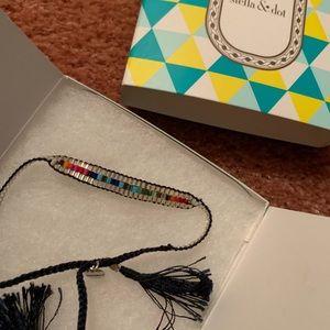 Stella and Dot Rainbow Bead Bracelet